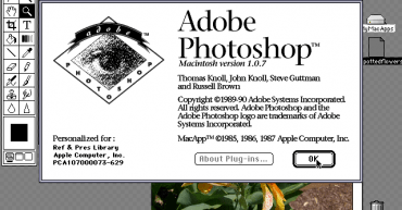 proceso evolutivo de Photoshop