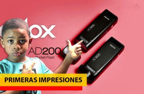 EL unboxing GODOX ad200