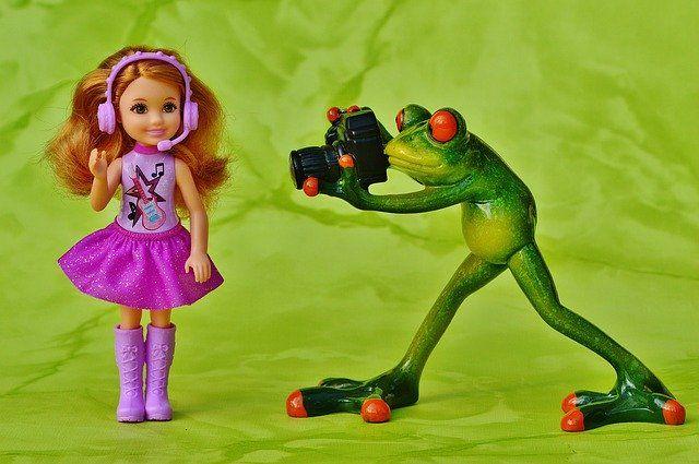 Fotografía a juguetes