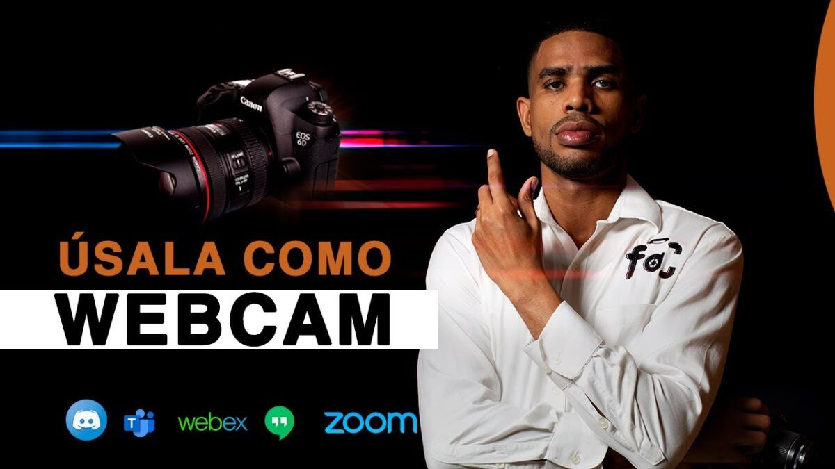 Usa tu camara canon como webcam