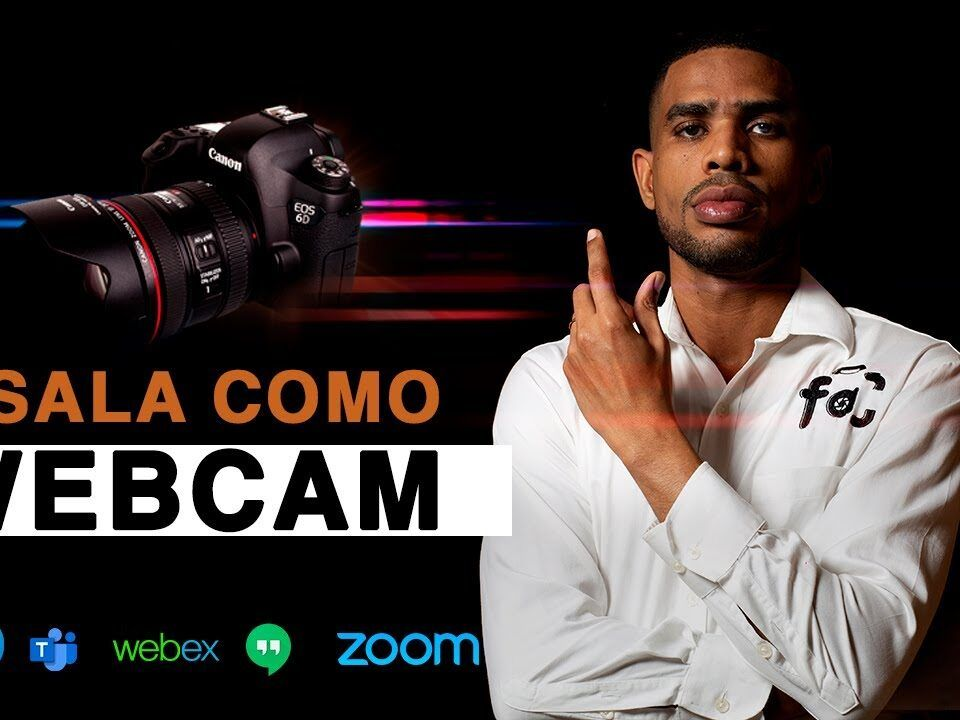 Usa tu camara canon como webcam